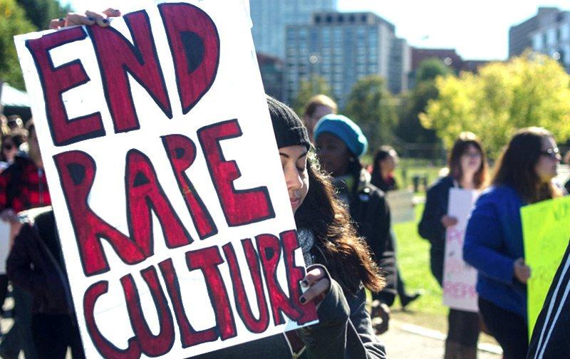 به فرهنگ تجاوز پایان بخشید